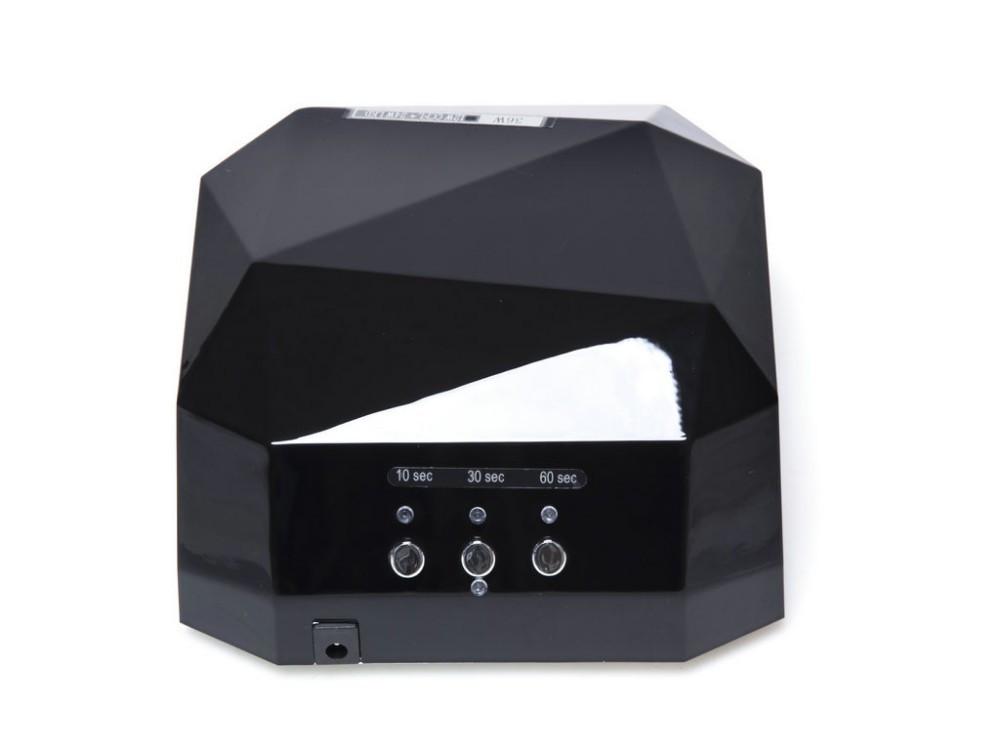 Гибридная лампа CCFL+LED  12w+24w, чёрная