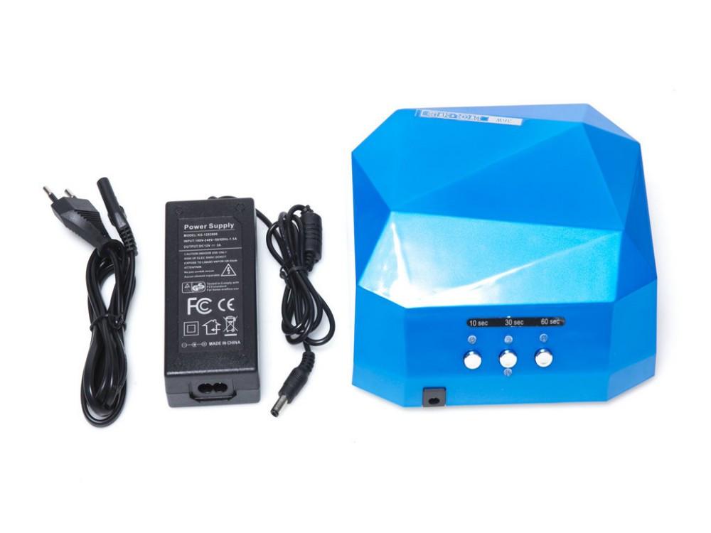 Гибридная лампа CCFL+LED  12w+24w, голубая