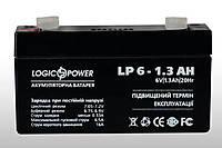 Аккумулятор LogicPower 6v1.3ah