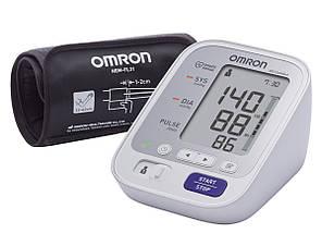 Автоматический тонометр с манжетой на плечо OMRON M3 Comfort (HEM-7134-E) с манжетой Intelli Wrap