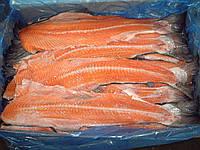 Хребты лосося замороженные. Производство Норвегия.