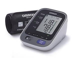 Автоматический тонометр с манжетой на плечо OMRON M6 Comfort IT с уникальной манжетой Intelli Wrap