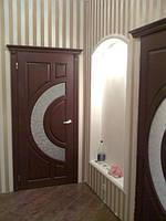 Двери деревянные (ясень)