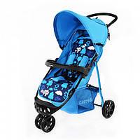 Коляска прогулочная трехколесная CARRELLO Comfort CRL-1405 BLUE
