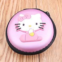 Сумка круглая для наушников Hello Kitty