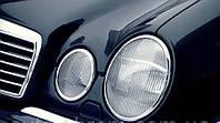 Накладки на фары Mercedes w210