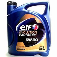 Моторное масло Elf Evolution Full-Tech FE 5W-30, 5л.