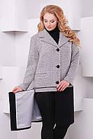 Пальто-трансформер больших размеров Берн репс