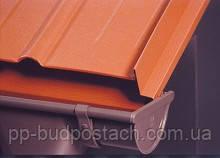 Сталевий водостік з полімерним покриттям