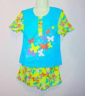 Летняя детская пижама для девочки