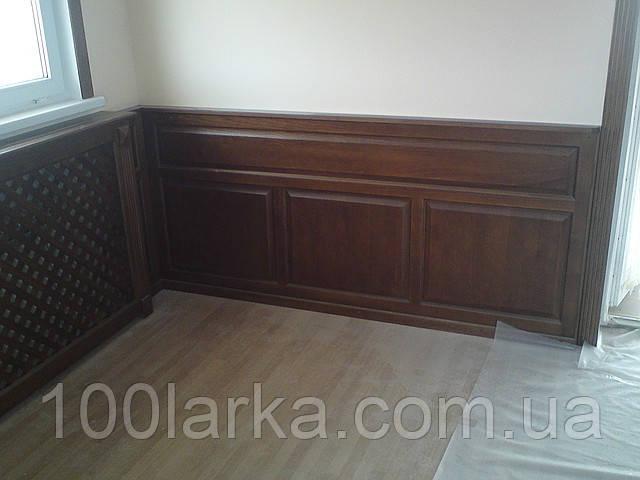 Стеновые деревянные панели (ясень)