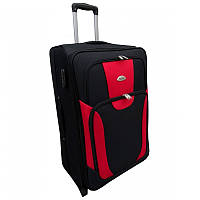 Чемодан сумка RGL 1003 (средний) черно-красный