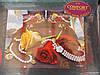 """Комплект постельного белья """"3D Lux COMFORT"""", двуспальный набор, 190x230, розы с драгоценностями"""
