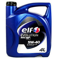 Моторное масло Elf Evolution 900 NF 5W-40, 4л.