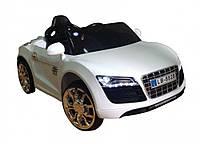 Детский электромобиль автомобиль Audi R8 (KD100) БЕЛЫЙ