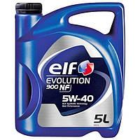 Моторное масло Elf Evolution 900 NF 5W-40, 5л.