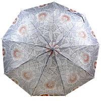 Зонт с ветрозащитой полуавтомат