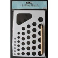 Инструмент для квиллинга (для закручивания бумажных лент) + доска Мандарин 26212-1