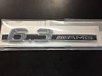 MERCEDES ML CL SL E S Эмблема на крыле  6.3 AMG Новый Оригинал