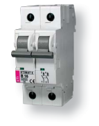 Авт. выключатель ETIMAT 6  2p D 4A (6kA)