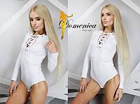 Женское молодежное боди на завязках в расцветках t-t3118140