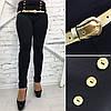 """Стильные женские леггинсы-лосины """"Лима"""" с завышенной талией (большие размеры), фото 2"""