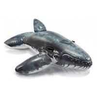 Надувная игрушка intex кит 57530 с ручками размеры 201*135 см