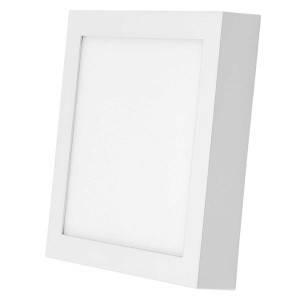 Светильник точечный светодиодный 12Вт накладной Biom квадратный белый свет, фото 2