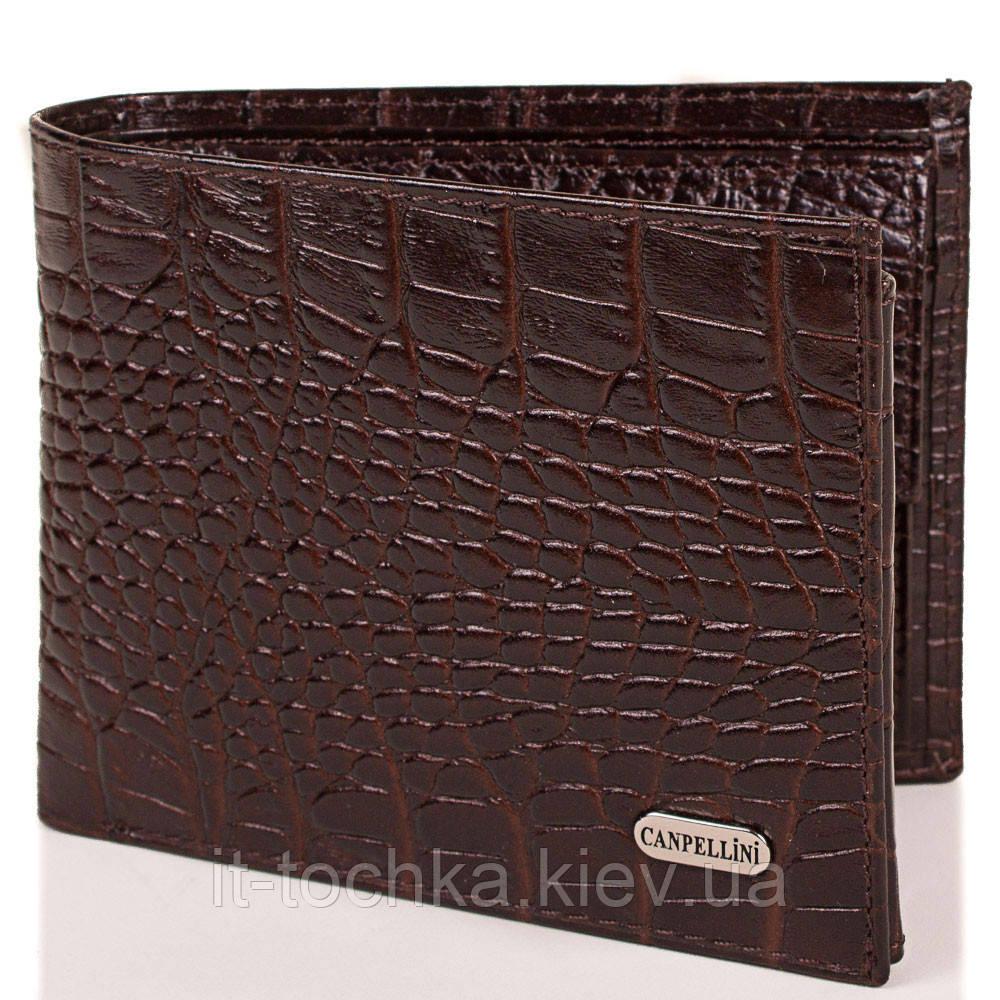 Мужской кожаный кошелек canpellini (КАНПЕЛЛИНИ) shi1042-10