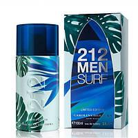 Мужская туалетная вода Carolina Herrera 212 Surf 100 мл edt Оригинал
