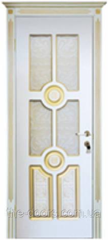 Двери межкомнатные Антарес остекленныепленка ПВХ
