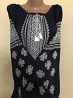 Сорочка туніка вишита на льоні (ручна робота)