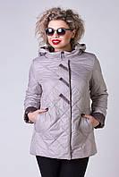 Куртка женская большого размера POEM №7927