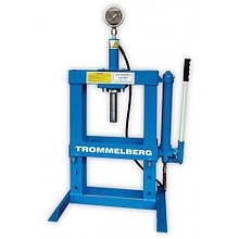Пресс 10т настольный с манометром  Trommelberg SD261210 (Германия/Тайвань)