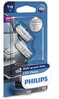 "Светодиодные лампы ""Philips"" W5W LED Vision 5500К"