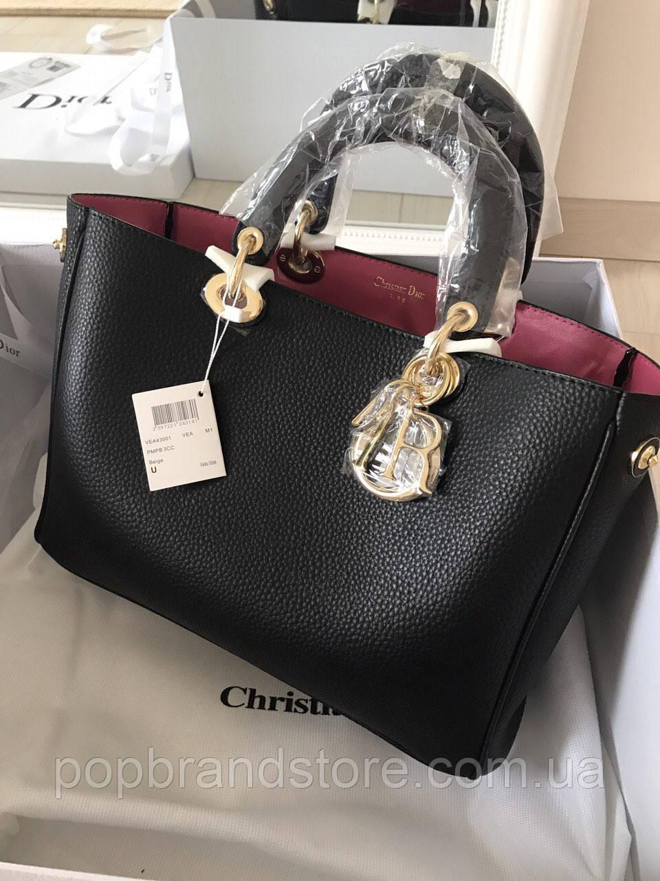 Женская кожаная сумка DIOR Diorissimo (реплика)  продажа, цена в ... 80808d946e0