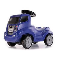 Детская машинка каталка (толокар) FERBEDO Truck-Ruster синий Германия