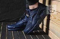 Мужские кроссовки Nike Huarache синие, фото 1