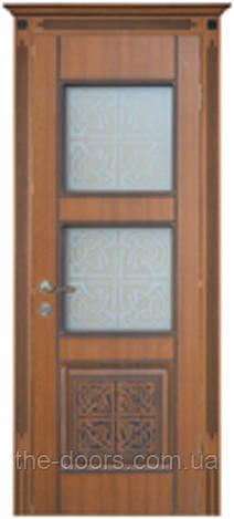 Двери межкомнатные Кадис остекленныепленка ПВХ