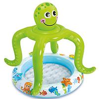 "Детский бассейн ""Smiling Octopus Shade Baby Pool"" Intex 57115, фото 1"