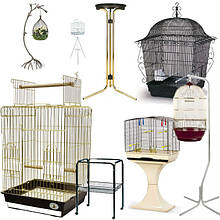 Клетки для попугая, кенара, амадин,подставки под клетки