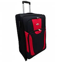Чемодан сумка RGL 1003 (большой) черно-красный