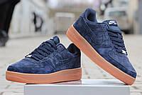 Мужские кроссовки Nike Air Force, синие