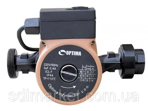 Насос циркуляционный OPTIMA OP20-60 130мм + гайки + кабель с вилкой!