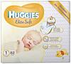 Подгузник для новорожденных Huggies Elite Soft 1 (0-5 кг) 82 штук