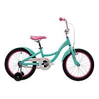 """Велосипед 18"""" Pride Amelia мятно-розовый 2017"""