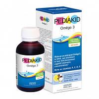 Сироп для здорового умственного развития Омега 3 Pediakid