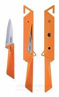 Нож для овощей peterhof 8,9 см з защитным чехлом, оранжевый