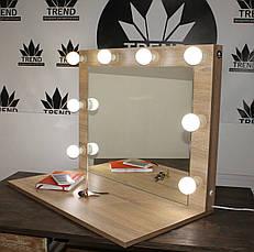 Зеркало для визажиста, парикмахера с широкой полочкой., фото 3