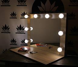 Зеркало для визажиста, парикмахера с широкой полочкой., фото 2